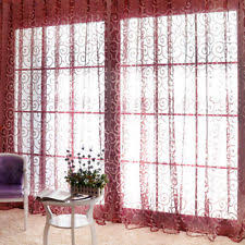 Floral Lined Curtains Modern Floral Lined Curtains Ebay
