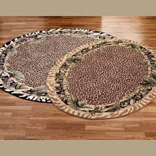 Area Rugs Tropical Theme Tropical Round Rugs Touch Of Class