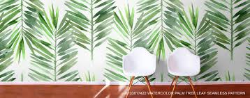 Watercolor Wallpaper For Walls by Jungle Murals Safari Scene Wallpaper