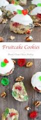fruitcake cookies brandy cream cheese frosting