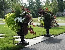 planters outstanding planter urns concrete urn planter frontgate