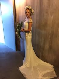gina wearing harlem by blue by enzoani my stunning brides