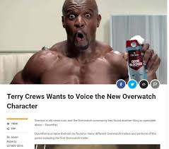 Terry Crews Old Spice Meme - terry crews wants to voice doomfist overwatch forums