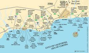 Where Is New Mexico On The Map by Cabo San Lucas Maps And Los Cabos Area Maps Cabo San Lucas