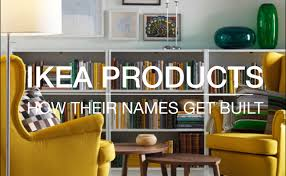 ikea products how their names are built youtube