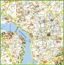 La City Map Toulouse City Center Map