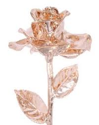 Rose Dipped In Gold Rose Gold Ring Rose Gold Ring Dipped In White Gold Dipping Gold