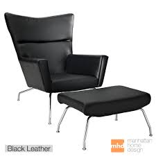Wing Chair Wing Chair U0026 Ottoman Wegner Wing Chair Reproduction