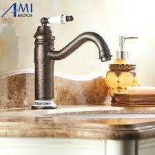 Brass Faucets Kitchen by Online Get Cheap Kitchen Porcelain Sinks Aliexpress Com Alibaba