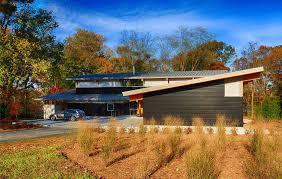 Frame Home by Modern Timber Frame House
