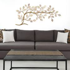 tree branch decor stratton home decor golden tree branch metal wall decor s01296