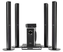 top home theater subwoofers amazon com samsung ht tq85 xm ready five disc dvd changer home