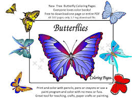 new butterfly color book accessible gardens