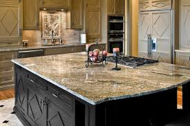 furniture quartzite countertops on wood kitchen island with under