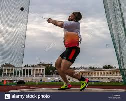 Hammer Town by Moscow Region Russia 29th July 2017 Athlete Valery Pronkin