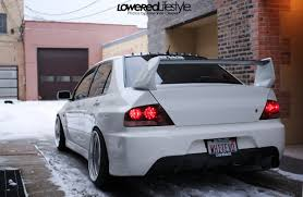 mitsubishi evo white snow white kyle u0027s evo 8 automotive features event coverage