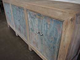 large grey blue sideboard media console cabinet custom furniture