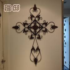 crosses wall decor wall decor wrought iron cross wall decor large wrought iron