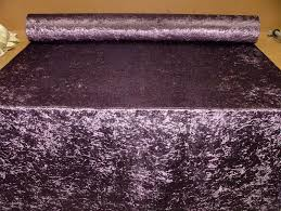 Crushed Velvet Fabric For Curtains Bling Crushed Velvet In Amethyst Fabric Ideal For Curtain