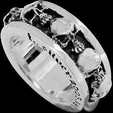 gothic rings silver images Sterling silver gothic rings gothic silver rings silver skull jpg