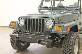 jeep front bumper rock hard 4x4 u0026 8482 narrow width legendary front bumper for jeep