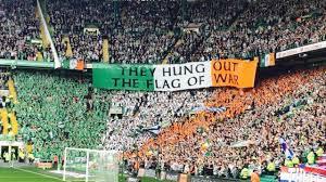Color Of Irish Flag Celtic Wins Rangers Fans Trash The Stadium Photos