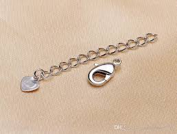 bracelet clasps diy images Necklace bracelet buckle extension chain tail chain adjustable diy jpg