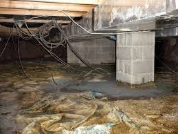 flooded muddy u0026 moldy crawlspace in stoutsville ohio home gives