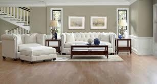 White Living Room Sets Furniture Upholstered Leather Wayfair Living Room Sets In White