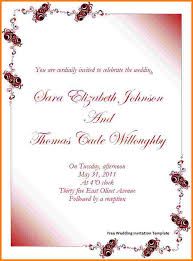 8 free invitation templates for word receipt templates