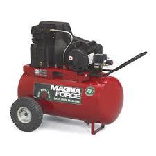 magna force 20 gallon horizontal portable air compressor