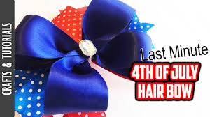 fourth of july hair bows 4th of july hair bow tutorial last minute bow the290ss