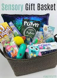 diy sensory gift basket