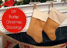 burlap christmas stockings mr and mrs winslett sugar bee crafts
