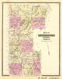 Map Vermont Vermont County Map