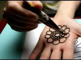 five basic henna tattoo strokes youtube