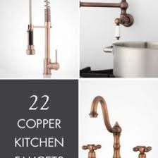 copper kitchen faucet what faucet goes with a copper sink nomadic decorator copper