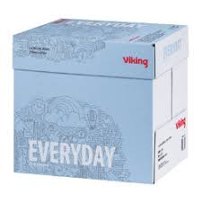 paper ream box viking everyday copy a4 80gsm economy printer paper white 5 ream