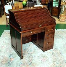 Small Roll Top Desk For Sale Antique Roll Top Desk Antique Moon Roll Top Quarter Oak Heavy
