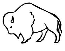 buffalo outline etsy