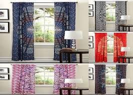 latest indian mandala curtains wall hanging window curtain indian