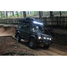 led tractor light bar 240 watt twin row led lightbar tractor defender html