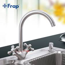 Quality Kitchen Faucet Frap 1set High Quality Kitchen Sink Faucet Zinc Alloy Kitchen