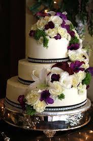 classy wedding cake with flowers on wedding flowers 52 fresh