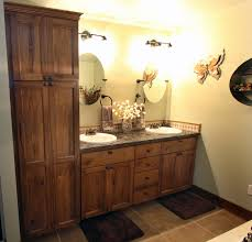 Rustic Knotty Hickory Kitchen Cabinets Kitchen
