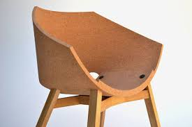 Cork Material Comfortable Corked Seating Cork Material