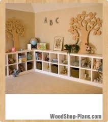 cubby shelves woodworking plans woodshop plans