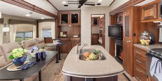 How To Design A Kitchen Island Layout 2016 Eagle Fifth Wheel Camper Jayco Inc