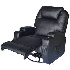 Recliner Sofa Recliner Sofa Leather Vibrating Heated Chair Lounge