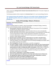 st lucie county biology i eoc study guide